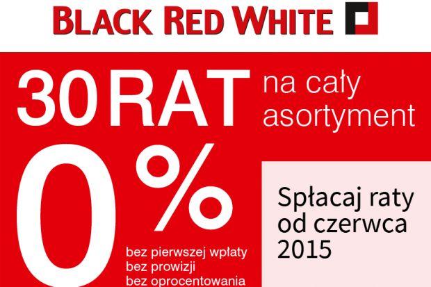 Wiosenne odświeżanie domu warto rozpocząć z Black Red White. Już od 18 marca skorzystać można z promocji cenowej nawet do 40% taniej, a także z systemu 30 rat 0% na cały asortyment ze spłatą dopiero od czerwca!
