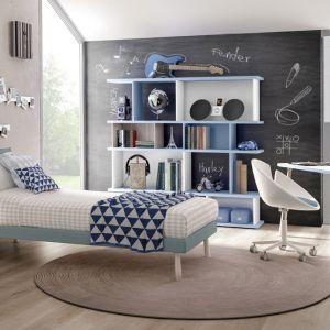 Połączenie błękitu z bielą stworzy modną, skandynawską aranżację. Fot. Zalf