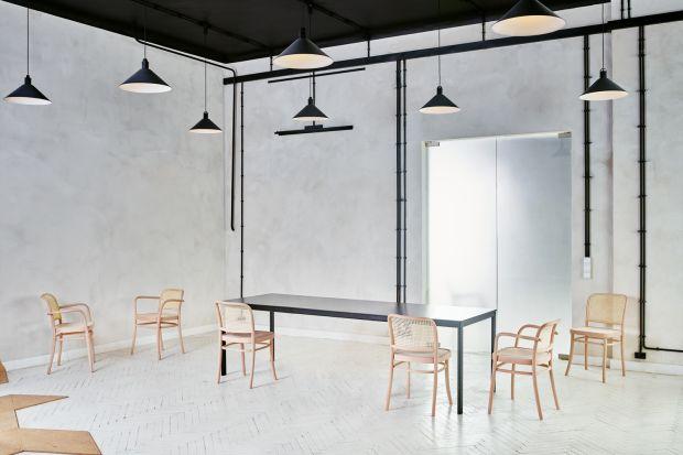 """""""Benko"""" to pierwszy od 150 lat model krzesła, w całości zaprojektowany i wykonany z gięciny."""