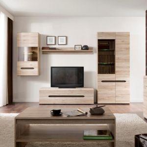 Kolekcja Elpasso do pokoju dziennego to meble, dzięki którym można przytulnie i funkcjonalnie urządzić swój salon. 18 różnych modułów, które można ze sobą dowolnie komponować pozwolą na ciekawą aranżację nawet najbardziej wymagającej przestrzeni. Fot. Black Red White