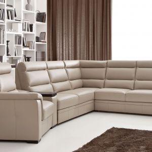 Duża ilość modułów narożnika Lounge daje możliwość dopasowania wyglądu oraz rozmiaru sofy do potrzeb wnętrza. Fot. Etap Sofa