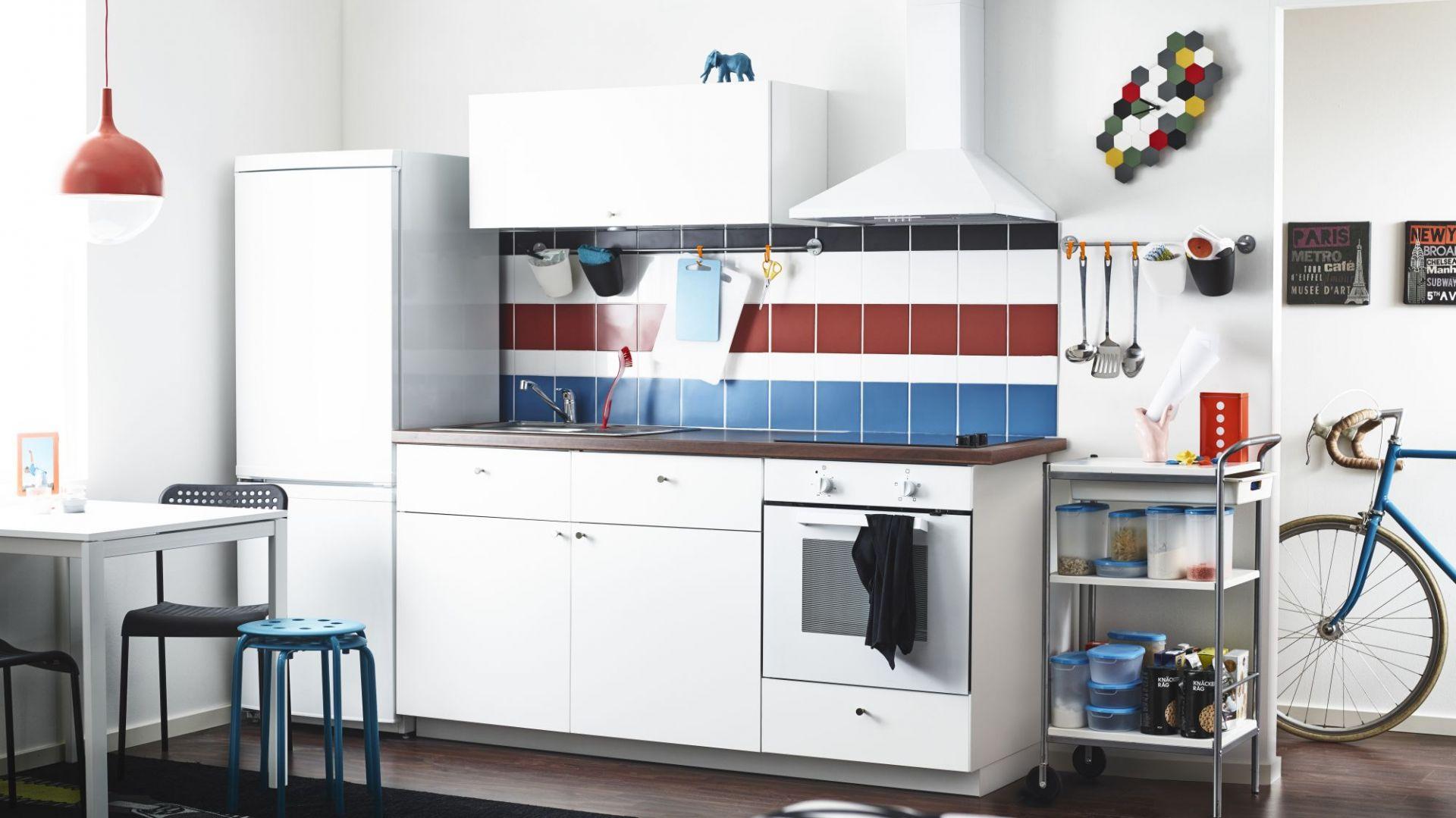 Kuchnia dostępna w ramach linii Metod. Cena zestawu podstawowego wynosi 1.199 zł. Fot. Ikea