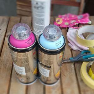 Farba akrylowa w sprayu to rozwiązanie dobre dla osób niemających czasu. Malowanie nią jest łatwe, a sama farba bardzo szybko schnie. Fot. Refreshing