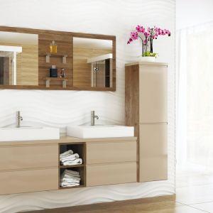 Bonita to meble, które sprawią, że twoja łazienka będzie przytulna i jasna. Fot. Stolkar