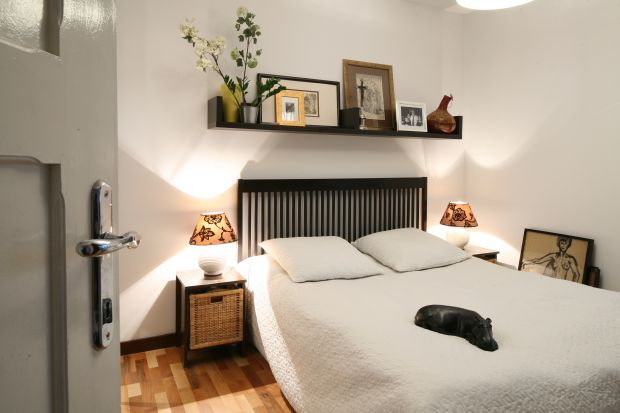 Sypialnia w bloku. 15 sposobów na małe wnętrze
