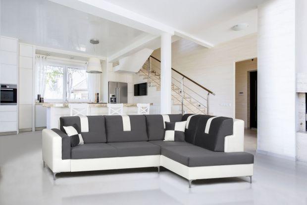 Szare sofy są obecnie najmodniejsze. Nostalgiczna kolorystyka sprawdzi się w każdym wnętrzu - klasycznym i nowoczesnym.