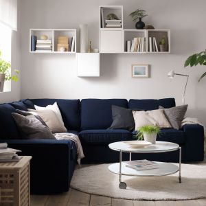 seria Valje wyposażona jest w elementy dostępne w kilku wymiarach i kolorach. Ich wielką zaletą jest łatwy montaż. Fot. IKEA