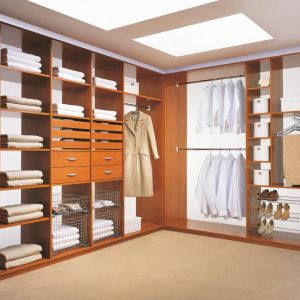 System organizacji szafy firmy Komandor. Fot. Komandor