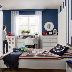 Porto to kolekcja w stylu marynistycznym, która świetnie sprawdzi się w pokoju dziewczynki. Fot. Black Red White
