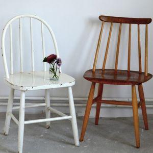 Oczyść dokładnie krzesło z wszelkich zabrudzeń, a następnie wytrzyj je do sucha. Fot. Deco-Szuflada