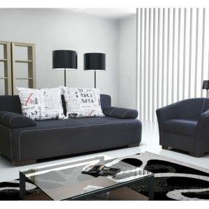Sofa Fidzi posiada siedzisko na sprężynie falistej oraz piance elastycznej. Fot. Meble Laski