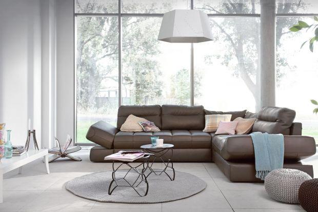 Sofa w salonie. Meble idealne dla całej rodziny
