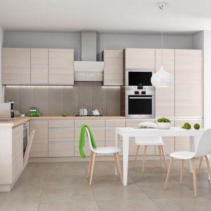 Malibu to kuchnia w stylu nowoczesnym, w kolorystyce creme lub malibu. Fot. Castorama