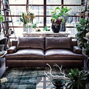 Skórzana sofa Malta zapewnia komfort wypoczynku. Fot. Arketipo