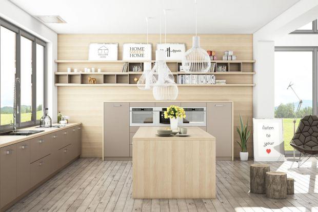 Nowoczesna, ergonomiczna i trwała kuchnia w skandynawskim stylu.