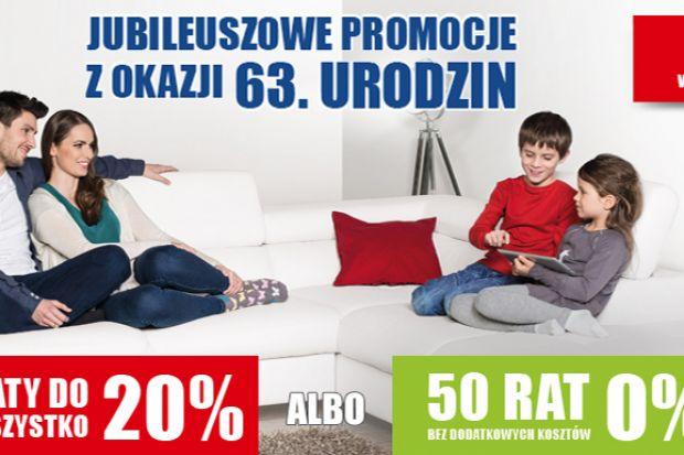 """Promocja """"Rabaty do 20% albo 50 rat 0% - wybierz promocję dla siebie - listopad 2015 r."""" trwa od 2 do 15 listopada 2015 r. Ceny promocyjne Super Okazji zawierają rabat 20%."""