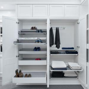 Wyposażenie garderoby. Fot. Peka