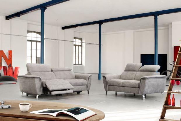 """Sofy """"Byron"""" łączą komfort i funkcjonalność mebli tapicerowanych z interesującym designem, wspartym najnowszymi rozwiązaniami konstrukcyjnymi."""