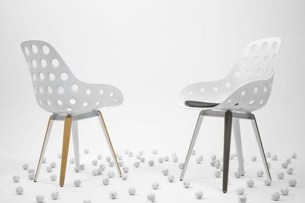 """""""Slice Holes"""" - krzesło o nowoczesnym kształcie"""