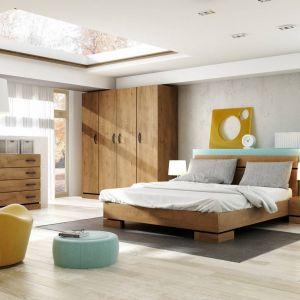 Sypialnia Kardamon to meble o prostych, nowoczesnych bryłach. Fot. Dig-Net