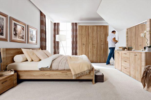 Sypialnia powinna być miejscem przytulnym, sprzyjającym odpoczywaniu. Zobacz, jakie łóżka oferują producenci.