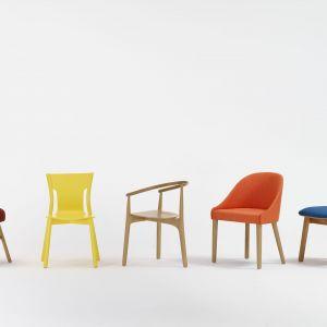Kolorowe krzesła z oferty firmy Paged. Fot. Paged