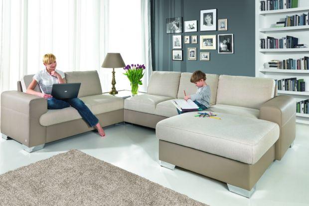 Sofa w salonie. 10 ulubionych kolekcji Polaków