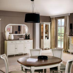 Oświetlenie stosowane w witrynach jadalniach pełni równocześnie funkcje użytkowe i dekoracyjne. Na zdjęciu: kolekcja Florencja firmy Taranko. Fot. Taranko