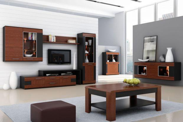 Meble do salonu: renesans ciemnych kolorów drewna