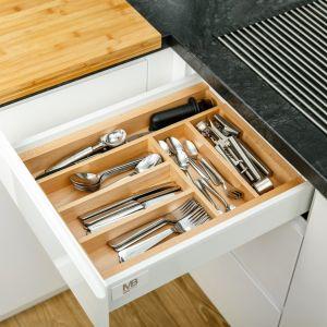 Wkład Wood in set pozwoli na wygodną segregację akcesoriów kuchennych. Fot. GTV