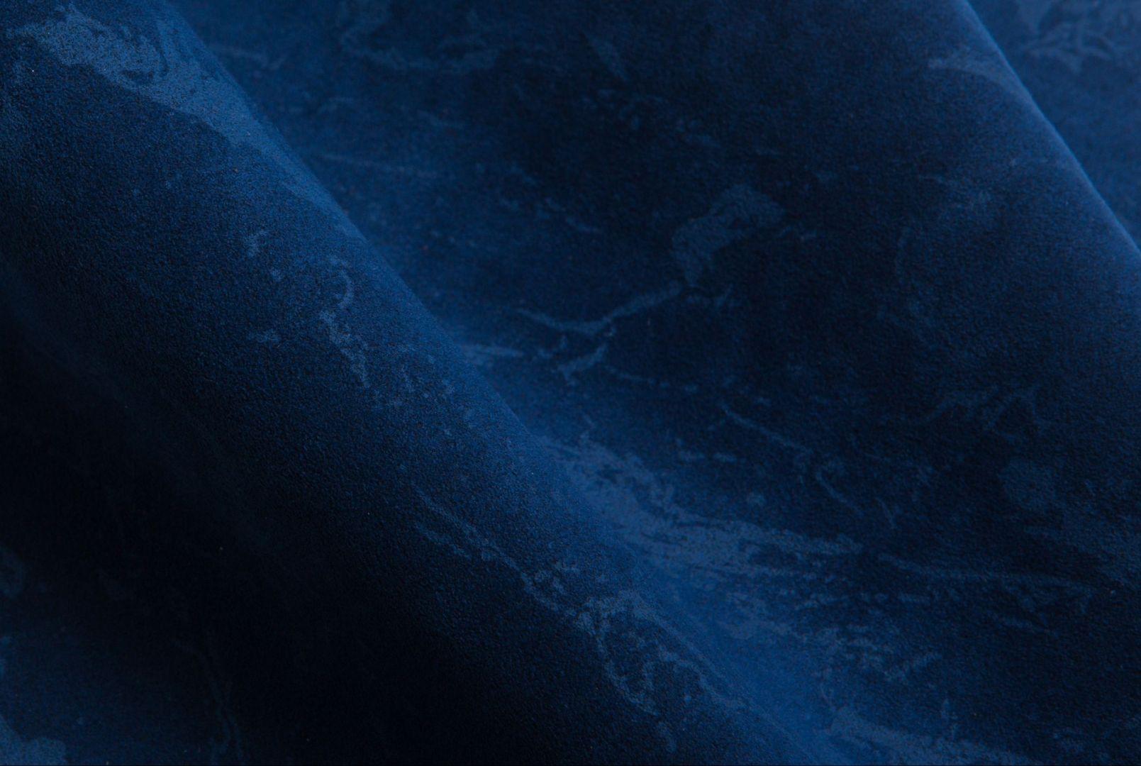 Tkanina marki Alcantara z efektem głębi, który uzyskano za pomocą trójwymiarowego zadruku. Fot. Alcantara