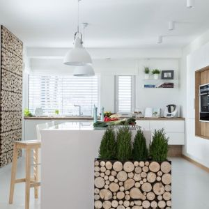 Meble w ścianie plus wyspa stworzą wygodną przestrzeń do przygotowania posiłków. Kuchnia Kruppe. Fot. Vigo/Sieć Max Kuchnie