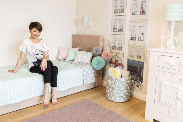 Dorota Gardias urządza pokój córki. Zobacz, jakie wybrała meble