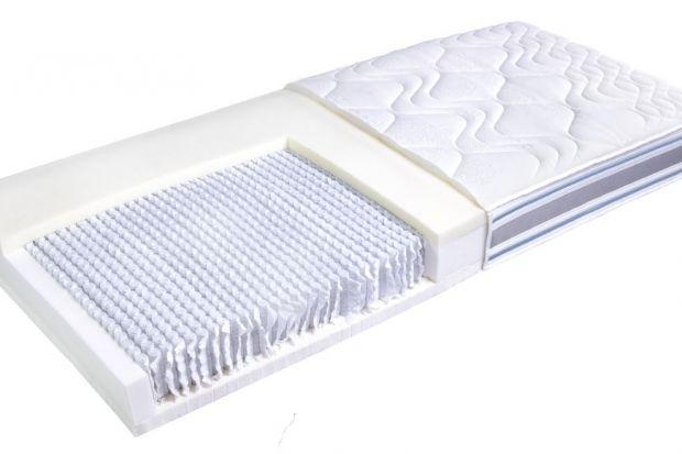 Połączenie sprężyn osadzonych w kieszeniach z warstwą pianki termoelastycznej oraz lateksu to przepis na niezawodne podłoże snu. Cechy te skupia w sobie REA – materac idealny dla dwojga.