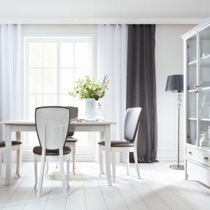 Jadalnia Orland to białe meble, które odświeżą wnętrze jadalni. Fot. Black Red White