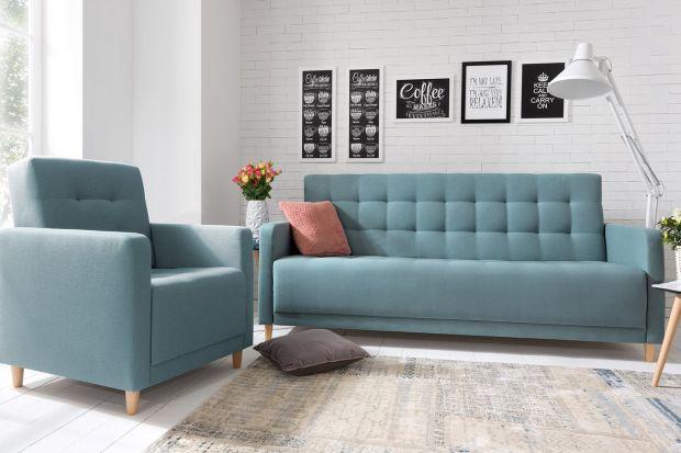 Wiosna w salonie. Postaw na sofę w pastelowym kolorze