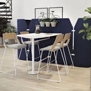 Zieleń w biurze sprzyja relaksowi i pomaga odzyskać energię potrzebną do wykonywania obowiązków zawodowych. Fot. Kinnarps