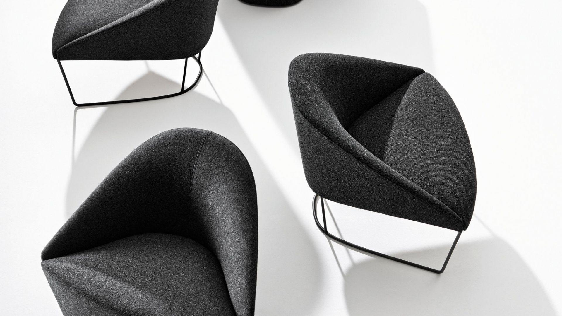 Krzesła z serii Colina. Fot. Arper