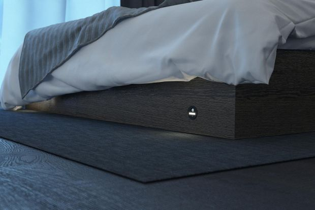 Nowoczesna sypialnia. Innowacyjne systemy oświetlenia