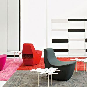 Te krzesła zaprojektował Tomek Rygalik dla marki Moroso. Fot. Moroso