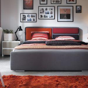 """Sypialnia """"Possi"""" (Black Red White). Łóżko oraz zagłówek dostępne są w wielu opcjach kolorystycznych. Fot. Black Red White"""