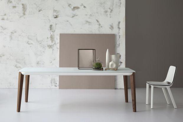 Może być ze szkła, metalu, drewna lub plastiku. Zazwyczaj o prostej, minimalistycznej formie, czasem z nietypową podstawą, niekoniecznie na czterech nogach. Odpowiednio dobrany stół podkreśli nowoczesny styl wnętrza.