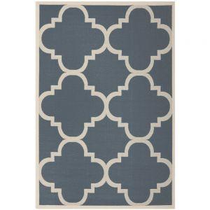 Dywany z marokańską koniczyną wprowadzą do wnętrza nutę orientu. Fot. Mint Grey