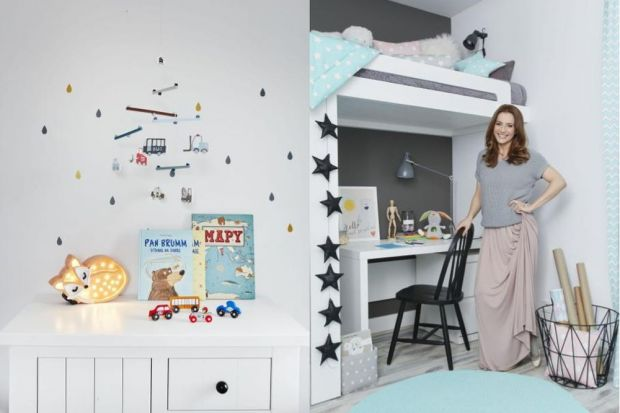 Z myślą o dzieciach i ich ulubionych zajęciach, dostosowane do potrzeb i wieku – tak urządzone są pokoje Maksa i Leny. O projektowaniu i aranżacji pokoi swoich dzieci opowiada polska aktorka, Anna Dereszowska.