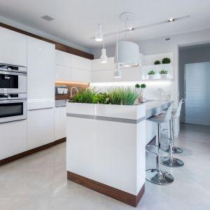 Najnowsze trendy stawiają na minimalizm. Takie kuchnie prezentują się lekko. Fot. Studio Vigo - Max Kuchnie