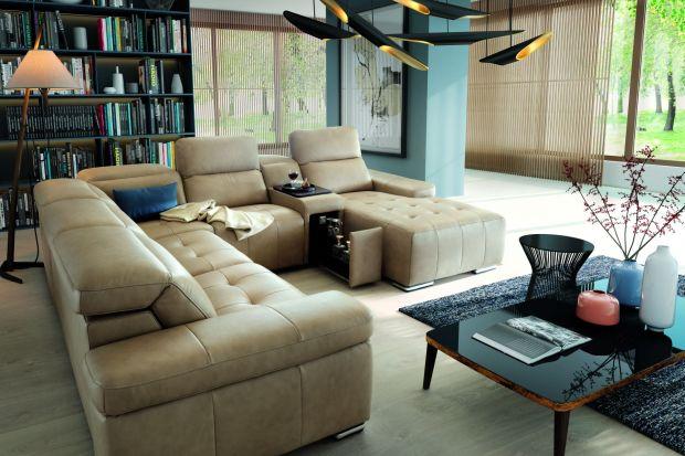 Modułowy system, który pozwoli stworzyć wygodną strefę wypoczynkową w salonie.
