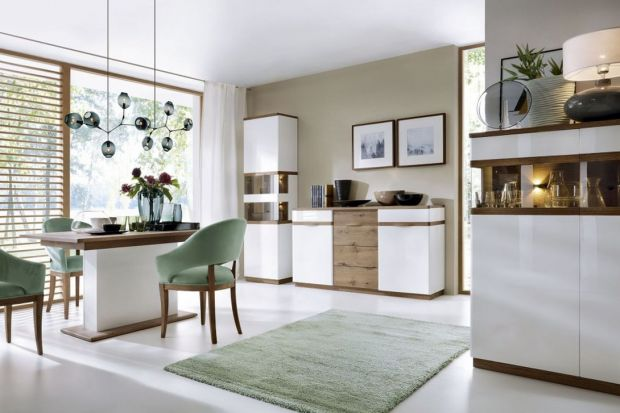 Do przechowywania porcelany, kolorowej ceramiki bądź także drobnych dekoracji doskonale przyda się witryna. Zobacz piękne modele.
