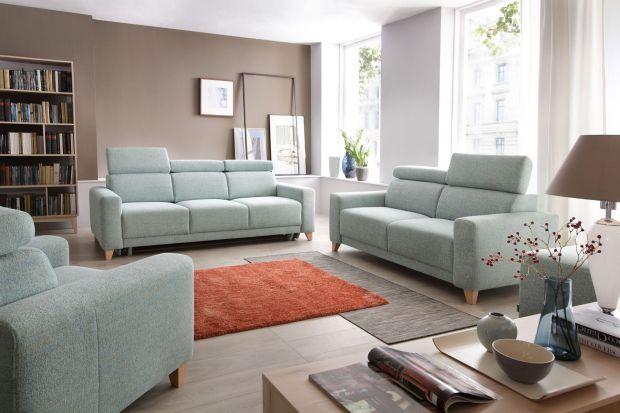 Sofa w salonie to wyjątkowo ważny mebel. W małym mieszkaniu, gdzie nie ma wiele miejsca doskonale sprawdzą się takie modele.
