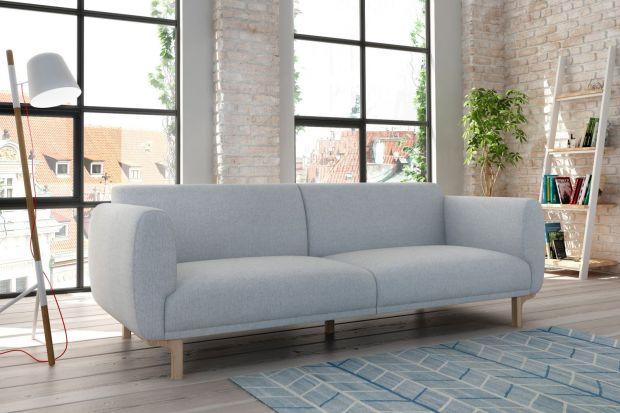 Enna to sofa inspirowana latami 60.. Wyróżnia się charakterystyczną, obłą linią.