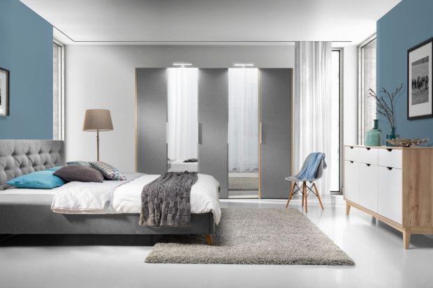 Szafa w sypialni. 5 modeli z dużym lustrem